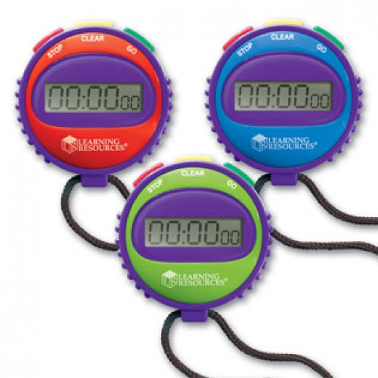 LER 0808 Simple Stopwatch Classroom Resources