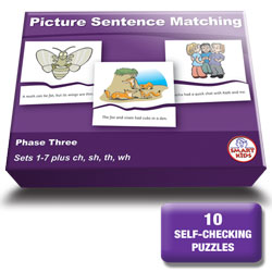 Picture Sentence Matching Phase Three