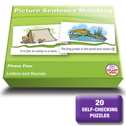 LT22- Picture Sentence Matching Phase Four