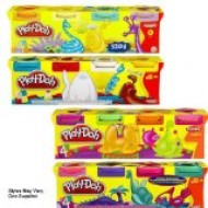 Playdough set 4 tubs