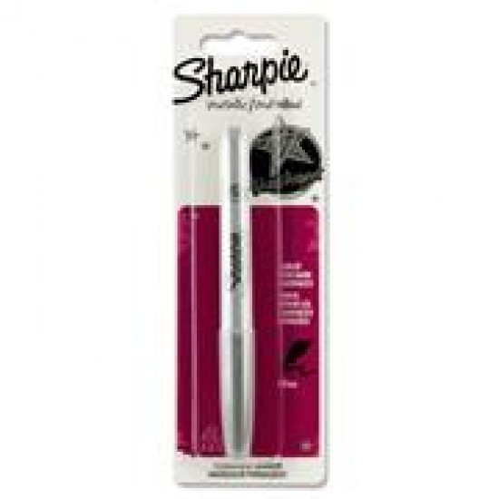 Sharpie Metallic Permament Marker - Silver Office Products