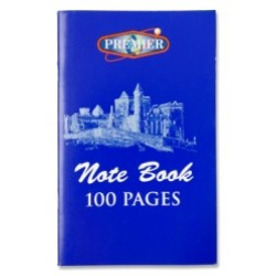 100 Page notebook pack 20