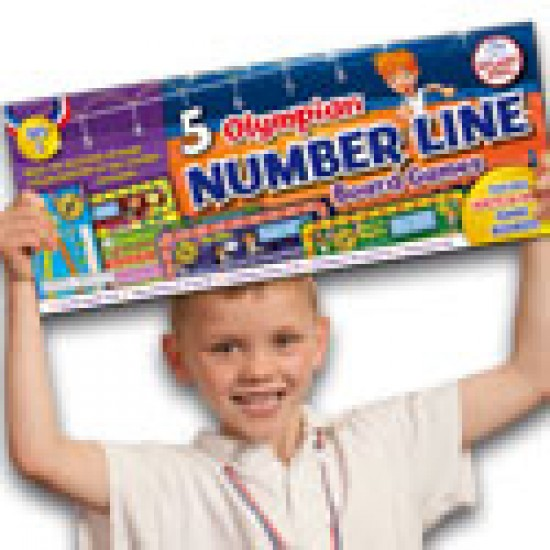 NP15 4 Olympian Number line games Classroom Resources