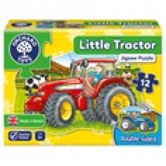 Little Tractor Jigsaw Puzzle Classroom Resources