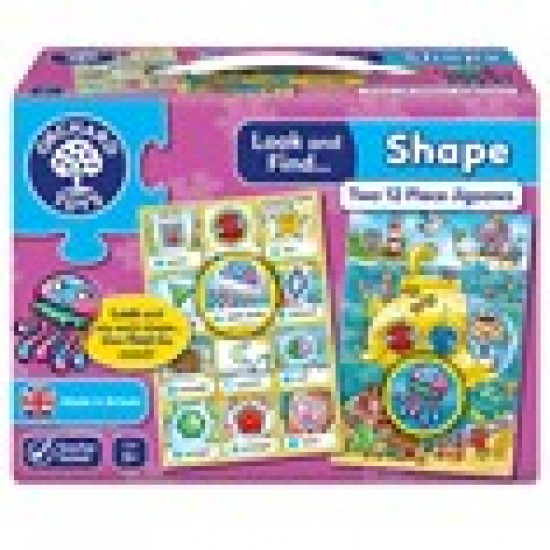 LOOK AND FIND... SHAPE Classroom Resources