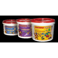 Polydron Mighty Tub- 223 Pieces