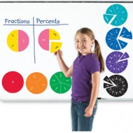LER1616 Double-Sided Magnetic Fraction Circles