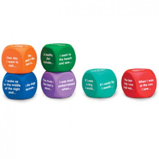 LER 7232  Writing Prompt Cubes Classroom Resources