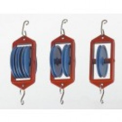 64626 Double Pulley 50mm diameter