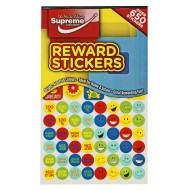 RW-9749 Reward Stickers over 650 stickers