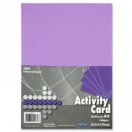 A4 Violet/Purple card Pack 50 sheets