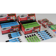 Show-me box black whiteboard pens box 100