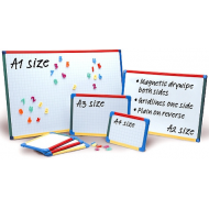 A3 Show-me Magnetic Framed Whiteboards
