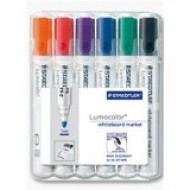 Whiteboard Markers Staedtler mixed pack 6 chisel tip