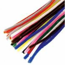 "Jumbo pack 350..12"" Coloured pipe cleaners"