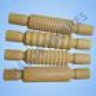 Wooden pattern rollers