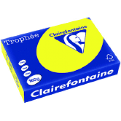 A4 Intense Yellow copy paper-ream 500 sheets